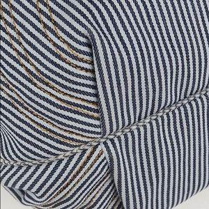 Fendi Bags - This Fendi Striped Jeans Blue White Denim Spy